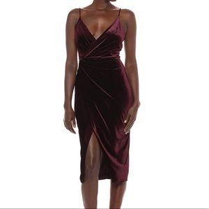 Betsey Johnson Velvet Dress Size 6